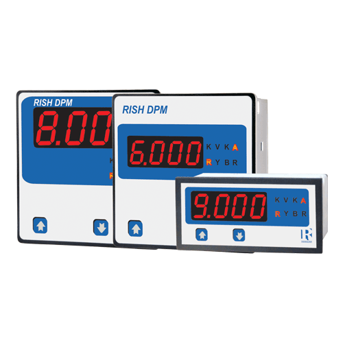 4 digit fully programmable AC Ammeter/Voltmeter - PGDx / PGD3x (48x96/96x96)
