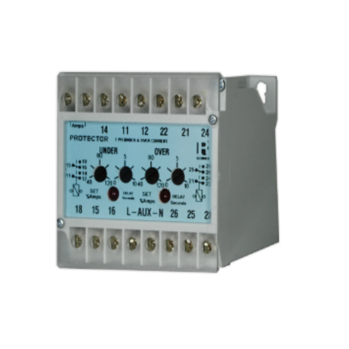AC Voltage Relay with Adjustable Time delay