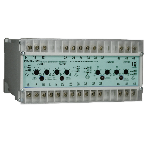 Combined Under / Over Voltage & Frequency Relay