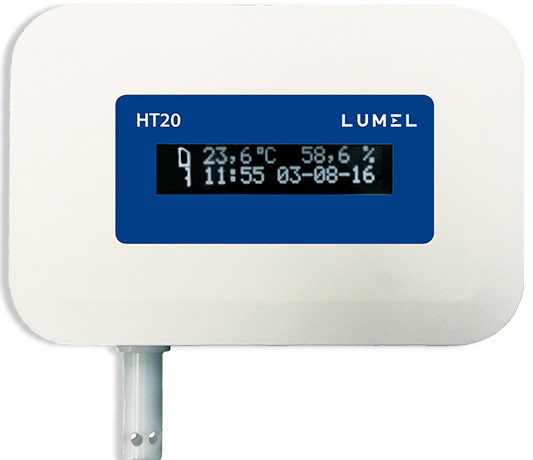 HT20 – Temperature and Humidity Monitor with Ethernet and PoE