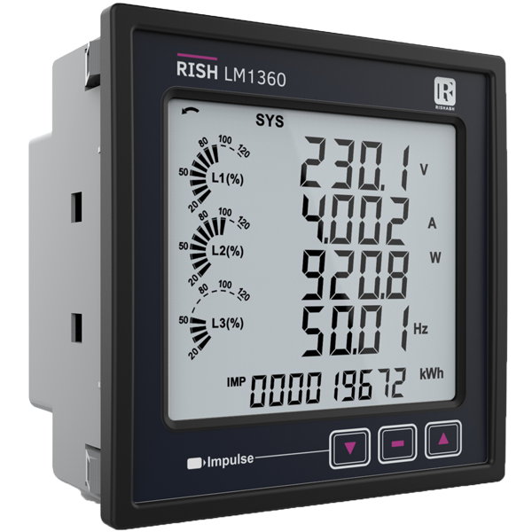 RISH LM 1360 / 1350 -Load Manager