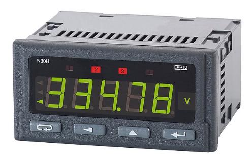 N30H - Advanced DC Input Tri-colour Digital Meter