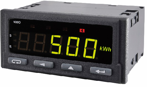N30O - Advanced Pulse / Rotation / Period Input Tri-colour Digital Meter