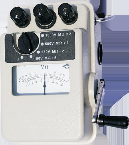 High-Voltage Multi Range Insulation Tester