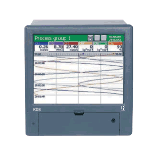 Paperless Recorder KD8